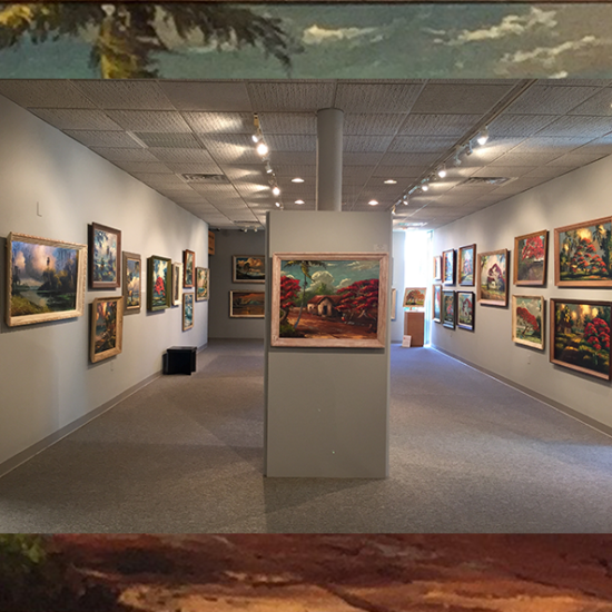 Featured Paintings of the Highwaymen at the Backus Museum